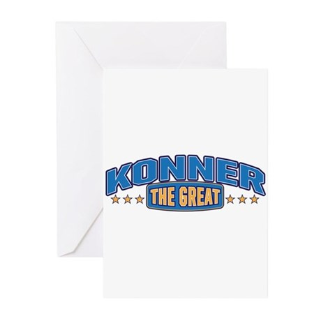The Great Konner Greeting Cards (Pk of 20)