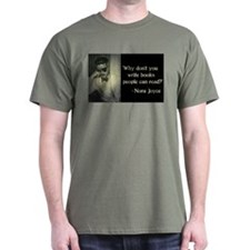 Joyce Quote Military Green T-Shirt
