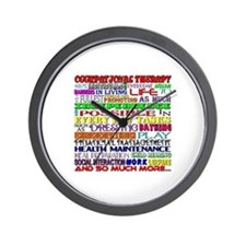 OT Words Wall Clock