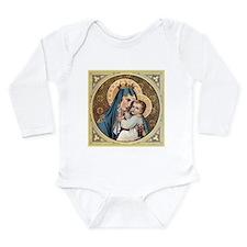 Unique Religious Long Sleeve Infant Bodysuit