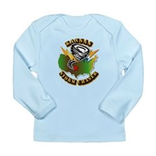 Storm Chaser - Kansas Long Sleeve Infant T-Shirt