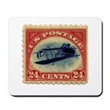 Rare Inverted Jenny Stamp Mousepad