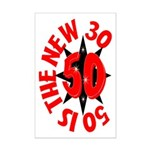 50 Is The New 30 Mini Poster Print