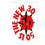 50 Is The New 30 Postcards (Package of 8)