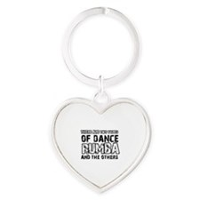 Rumba dance designs Heart Keychain
