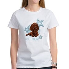Let it Snow Irish Setter Tee
