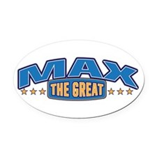 The Great Max Oval Car Magnet