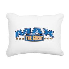 The Great Max Rectangular Canvas Pillow