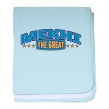 The Great Mekhi baby blanket