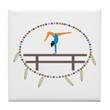 Southwest Gymnastics Tile Coaster