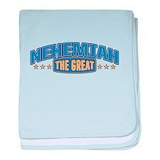 The Great Nehemiah baby blanket