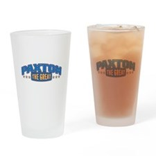 The Great Paxton Drinking Glass