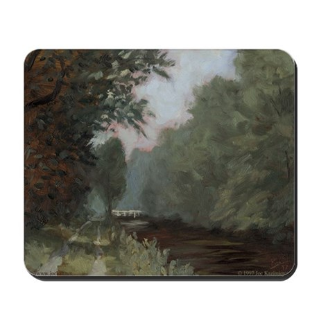 Canal Path Mousepad