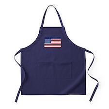 Custom American Flag Apron (dark)