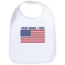 Custom American Flag Bib