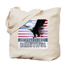 America and Keystone Soldiers Tote Bag