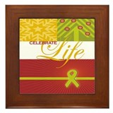 Celebrate Life Holiday Collection Framed Tile