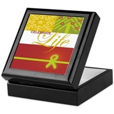 Celebrate Life Holiday Collection Keepsake Box
