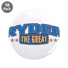 "The Great Ryder 3.5"" Button (10 pack)"