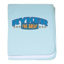 The Great Ryker baby blanket