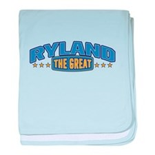 The Great Ryland baby blanket