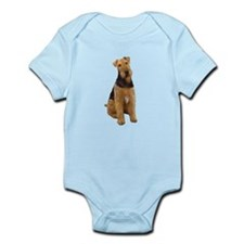 Airedale #1 - sit Infant Bodysuit
