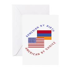 Armenia Birth USA Choice Greeting Cards (Package o