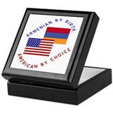 Armenia Birth USA Choice Keepsake Box