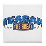 The Great Teagan Tile Coaster