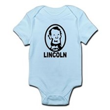 Abraham Lincoln Portrait Body Suit