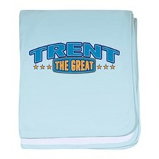 The Great Trent baby blanket