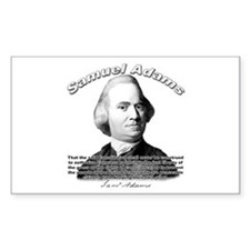 Samuel Adams 01 Rectangle Decal