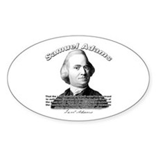 Samuel Adams 01 Oval Decal