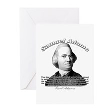 Samuel Adams 01 Greeting Cards (Pk of 10)