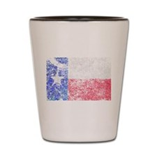 Flag of Texas Shot Glass