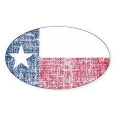 Distressed Texas Flag Decal