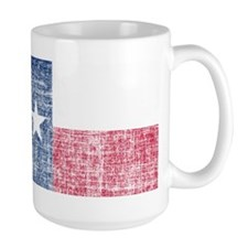 Distressed Texas Flag Mug