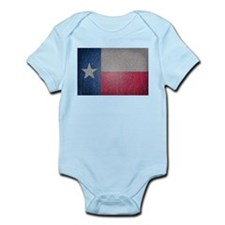 Texas Flag Faded Body Suit