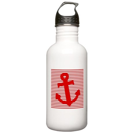'Nautical' Stainless Water Bottle 1.0L