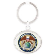 NOAA - Commissioned Corps Oval Keychain