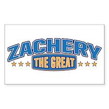 The Great Zachery Decal