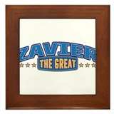 The Great Zavier Framed Tile