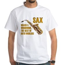 Sax - The Best of Both Worlds Shirt