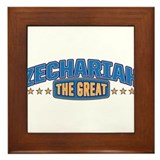 The Great Zechariah Framed Tile