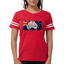 American Flag Pattern Women's All Over Print T-Shi