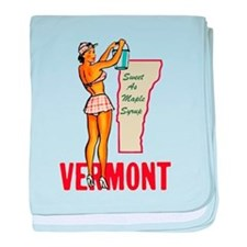 Vermont Pinup baby blanket