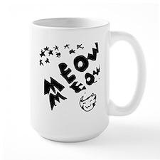 meow meow in the stars Mug