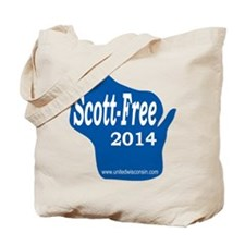 Scott-Free Wisconsin Tote Bag