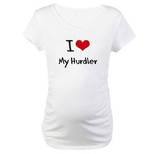 I Love My Hurdler Shirt