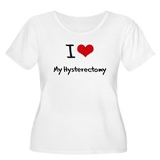 I Love My Hysterectomy Plus Size T-Shirt